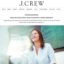 J.Crew blog