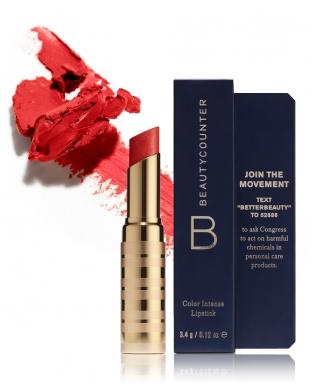 Beautycounter Red Rouge à lèvres Couleur intense